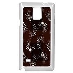 Free Dot Spiral Seamless Samsung Galaxy Note 4 Case (white)