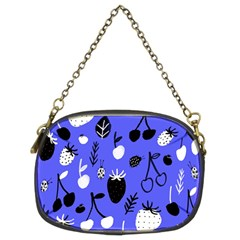 Fruit Strobery Leci Purple Chain Purses (two Sides)