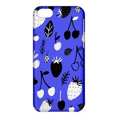Fruit Strobery Leci Purple Apple Iphone 5c Hardshell Case