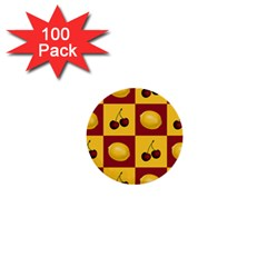 Fruit Pattern 1  Mini Buttons (100 Pack)