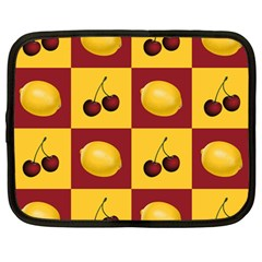 Fruit Pattern Netbook Case (large) by AnjaniArt
