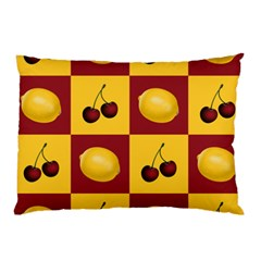 Fruit Pattern Pillow Case by AnjaniArt