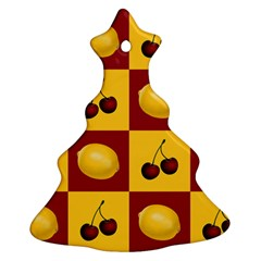 Fruit Pattern Christmas Tree Ornament (2 Sides)