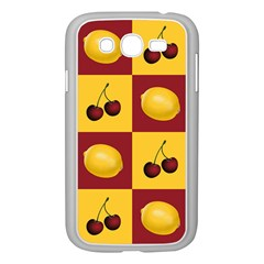 Fruit Pattern Samsung Galaxy Grand Duos I9082 Case (white)