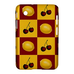 Fruit Pattern Samsung Galaxy Tab 2 (7 ) P3100 Hardshell Case  by AnjaniArt