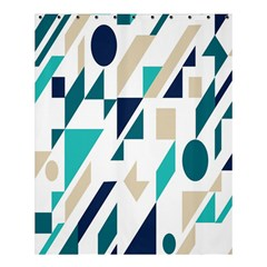Geometric Shower Curtain 60  X 72  (medium)  by AnjaniArt