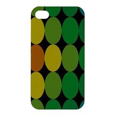 Geometry Round Colorful Apple Iphone 4/4s Hardshell Case
