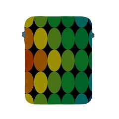 Geometry Round Colorful Apple Ipad 2/3/4 Protective Soft Cases