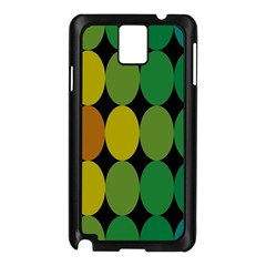 Geometry Round Colorful Samsung Galaxy Note 3 N9005 Case (black)