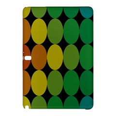 Geometry Round Colorful Samsung Galaxy Tab Pro 12 2 Hardshell Case by AnjaniArt