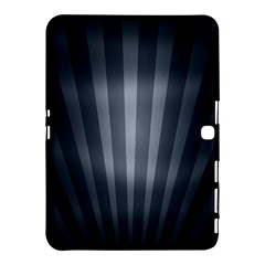 Grey Black Samsung Galaxy Tab 4 (10 1 ) Hardshell Case  by AnjaniArt