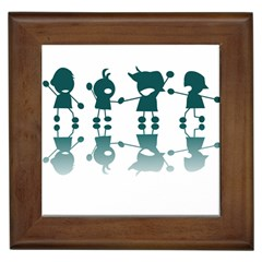 Happy Kids Framed Tiles