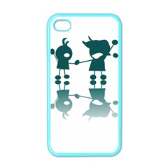 Happy Kids Apple Iphone 4 Case (color)