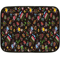 Happy Family Flower Home Sweet Bee Fleece Blanket (mini)