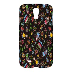 Happy Family Flower Home Sweet Bee Samsung Galaxy S4 I9500/i9505 Hardshell Case