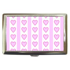Heart Pink Valentine Day Cigarette Money Cases