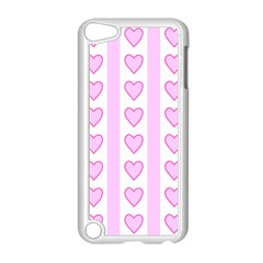 Heart Pink Valentine Day Apple Ipod Touch 5 Case (white) by AnjaniArt