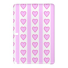 Heart Pink Valentine Day Samsung Galaxy Tab Pro 12 2 Hardshell Case by AnjaniArt