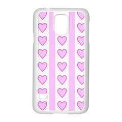 Heart Pink Valentine Day Samsung Galaxy S5 Case (white) by AnjaniArt