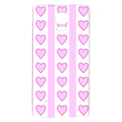 Heart Pink Valentine Day Galaxy Note 4 Back Case by AnjaniArt