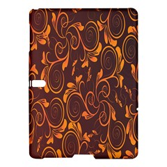 Gold Flower Samsung Galaxy Tab S (10 5 ) Hardshell Case