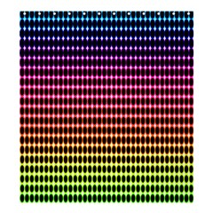 Halftone Pattern Rainbow Shower Curtain 66  X 72  (large)  by AnjaniArt