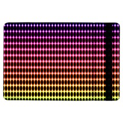 Halftone Pattern Rainbow Ipad Air Flip