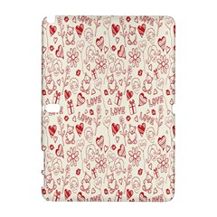 Heart Surface Kiss Flower Bear Love Valentine Day Galaxy Note 1