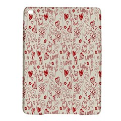 Heart Surface Kiss Flower Bear Love Valentine Day Ipad Air 2 Hardshell Cases by AnjaniArt