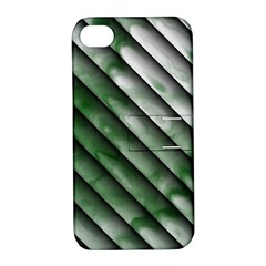Green Bamboo Apple Iphone 4/4s Hardshell Case With Stand by AnjaniArt
