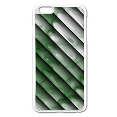 Green Bamboo Apple Iphone 6 Plus/6s Plus Enamel White Case by AnjaniArt