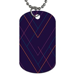 Line Color Dog Tag (two Sides) by AnjaniArt