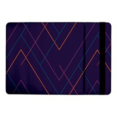 Line Color Samsung Galaxy Tab Pro 10 1  Flip Case by AnjaniArt