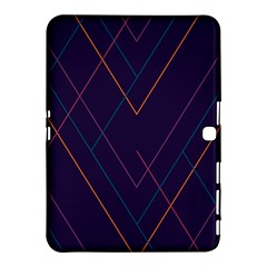 Line Color Samsung Galaxy Tab 4 (10 1 ) Hardshell Case  by AnjaniArt
