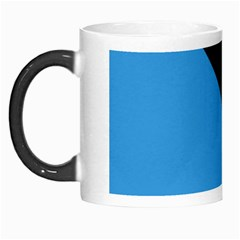 Lines Textur  Stripes Blue Morph Mugs by AnjaniArt