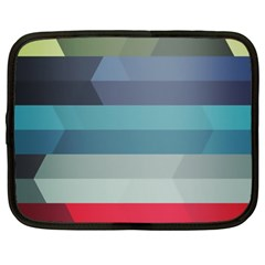 Line Light Stripes Colorful Netbook Case (xl)