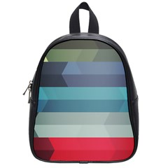 Line Light Stripes Colorful School Bags (small)