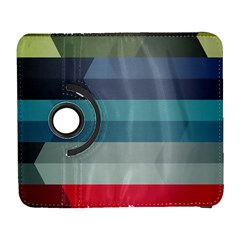 Line Light Stripes Colorful Galaxy S3 (flip/folio)