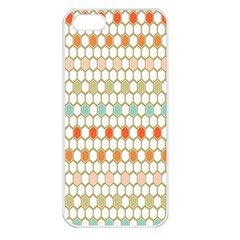 Lab Pattern Hexagon Multicolor Apple Iphone 5 Seamless Case (white) by AnjaniArt