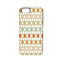 Lab Pattern Hexagon Multicolor Apple Iphone 5 Classic Hardshell Case (pc+silicone)