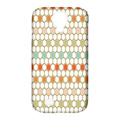Lab Pattern Hexagon Multicolor Samsung Galaxy S4 Classic Hardshell Case (pc+silicone) by AnjaniArt