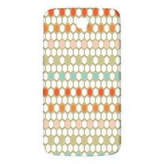 Lab Pattern Hexagon Multicolor Samsung Galaxy Mega I9200 Hardshell Back Case
