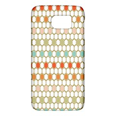 Lab Pattern Hexagon Multicolor Galaxy S6