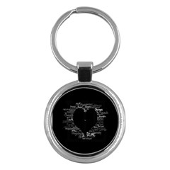 Love Valentine Day Key Chains (round)
