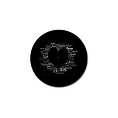 Love Valentine Day Golf Ball Marker by AnjaniArt