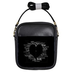 Love Valentine Day Girls Sling Bags by AnjaniArt