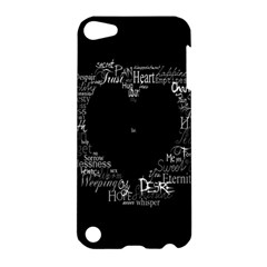 Love Valentine Day Apple Ipod Touch 5 Hardshell Case by AnjaniArt