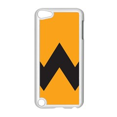 Minimal Modern Simple Orange Apple Ipod Touch 5 Case (white) by AnjaniArt