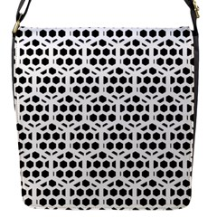 Seamless Honeycomb Pattern Flap Messenger Bag (s) by Amaryn4rt