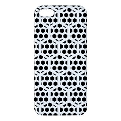 Seamless Honeycomb Pattern Iphone 5s/ Se Premium Hardshell Case by Amaryn4rt